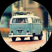 Schoolbord travel
